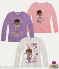 GIRLS DOC MCSTUFFIN LONG SLEEVE TOP AGE 3,4,5,6,7,8 YEARS