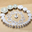 32pcs Sugarcraft Cake Decorating Fondant Icing Plunger Cutters Tools diy moulds