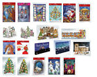 Luxury big flat pop up & 3D Christmas Advent Calendars Calendar- free post in UK