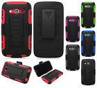 Samsung Galaxy Avant COMBO Belt Clip Holster Case Cover Kickstand + Screen Guard