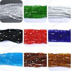 Top Cube Square Czech Glass Crystal Beads Loose Beads Jewelry Making 4mm 6mm 8mm