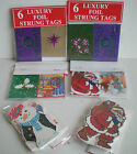 NEW 6 x PACKS OF CHRISTMAS GIFT LABEL TAGS 113