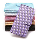 For 5.5'' iPhone 6 Plus LUXURY SLIM WALLET Bling Rhinestone Flip Case Cover New