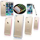 Slim Transparent Crystal Clear Hard TPU Back Cover For Apple iPhone 6 Case 4.7""
