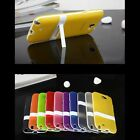 Ultra-thin Slim Rubber Stand TPU Silicone Case Cover Skin for Cell Phone Mobile