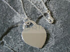 SILVER NECKLACE HEART LOCKET PENDANT CHAIN CHARM JEWELLERY ACCESSORIES  WN005