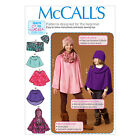McCall's 7012 Easy Beginner Sewing Pattern to MAKE Cape Poncho & Hat