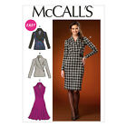 McCall's 7016 Easy Sewing Pattern to MAKE Semi/Fitted Stretch Pullover Top Dress