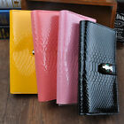 New Ms. Long Wallet Crocodile Pattern Fashion Faux Leather Women's Wallet DP184