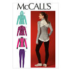 McCall's 7026 Easy Sewing Pattern to MAKE Stretch Sports Jackets & Leggings