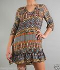 Tolani Gina Mini Dress Long Tunic in Multi #8638
