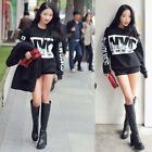 NYC Print Sweatshirt Long Sleeve Thicken Loose Blouse Warm Womens Tops  Reliable