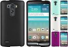 NEW RUBBERIZED PROTEX HARD SHELL CASE PROTECTOR COVER FOR LG G3 VIGOR MINI BEAT