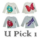 GIRLS OLD NAVY SHIRT LONG SLEEVE 2T 3T 4T CHILDREN CLOTHES TOP CUTE COTTON TEE