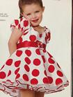 Bashful Christmas  pageant or parade baby doll dress dance costume