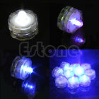 1/5/10Pcs Waterproof LED Decoration Submersible Wedding Party Battery Tea Lights