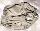 WOW~VANITY FAIR GRAY 15712/15812 PERFECTLY YOURS NYLON BRIEFS PANTIES~6/M~NEW