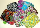 Vera Bradley E-READER SLEEVE Fits Kindle Nook iPad Mini Tablet eReader Cover NWT