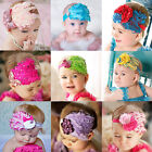 Baby vintage Feather Pad prop headband flower hair band Accessorie for Christmas