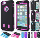 Heavy Duty Hybrid Rubber Protector Silicone Hard Case Cover For iPhone 6 PLUS