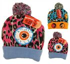 Boys Girls Monster Bobble Hat, Teens Soft Warm Beanie Hats, Winter Gift  RZK29