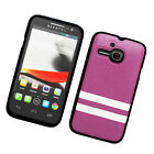 T-Mobile Alcatel ONETOUCH Evolve TPU STRIPES CANDY Gel Flexi Skin Case Cover