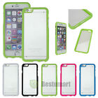 """For iPhone 6 (4.7"""")   6 plus (5.5"""") Ultra Thin Clear Hard  PC Soft TPU Case US"""