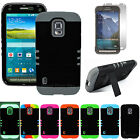 Hybrid Armor Impact Defender Hard Soft Case Cover for Samsung Galaxy S5 Active