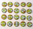 Paved 25mm scenic resin bases, Qty 10-50, unpainted sci-fi by Daemonscape