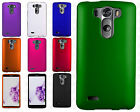 LG G3 Vigor Rubberized HARD Protector Case Snap On Phone Cover +Screen Protector