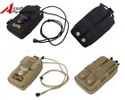 "Tactical Molle 5.5"" Double Layers Phone Pouch Bag for iPhone6 plus Samsung Note3"
