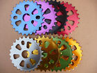 Coyote Alloy BMX Coloured ChainRing ChainWheel 25T Stunt Street BMX Sprocket NEW