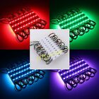 12V 5050 SMD 3LED warm/cool white RGB Module Waterproof Light Lamp super bright
