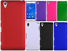For T-Mobile Sony Xperia Z3 Rubberized HARD Protector Case Snap On Phone Cover