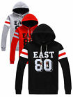 Men's Korean Style Long-sleeved Sweater Blouse Casual Hooded Shirt Tracksuit