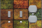 TUSCAN MOSAIC TILE IMAGE KITCHEN HOME DECOR LIGHT SWITCH PLATES AND OUTLETS