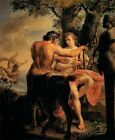 Baroque Greek Heroic Art Print: Achilles and the Centaur Chiron by Pompeo Batoni