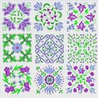Anemone Quilt Squares 2 Machine Embroidery Designs CD-Anemone Embroidery Designs