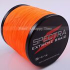 8 Strands Orange 1000M 10LB-300LB Spectra PE Braid Fishing Line Big Game Dyneema