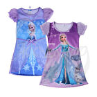 Toddler Girl Dress Frozen Elsa Olaf Princess Night Gown Shirt Sleepwear Kids Pjs