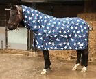 **STAR** LIGHTWEIGHT OUTDOOR RUG - FULL NECK for small pony 4' 6 to 5' 0