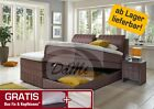 "Boxspringbett mit Bettkasten ""Chicago"" Hotelbett  160, 180, 200 x 200"