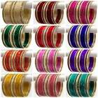 Set of 24 Indian Ethnic Bangles Costume Sari Matching Belly Dance Bracelets