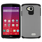 For LG Verizon Transpyre HARD Astronoot Hybrid Rubber Silicone Case Cover