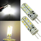 Silica Gel G4 2W 24 LED SMD 3014 SMD Warm / cool white Light Bulb Lamp DC 12V