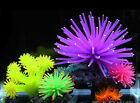 Silicone Aquarium Fish Tank Decor Artificial Coral Plant Underwater Ornament NEW