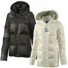 Adidas Original Jacket Coat Down Ladies Women Parka Detachable Hood Fur Full Zip