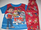 Paw Patrol Toddler Boys 2T 3T 4T 5T short Sleeve 2 piece pajamas Nick Jr Paw