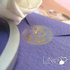 120/360pcs Silver Gold 4 Pattern Wedding Invitation Envelope Seal Sticker Decor