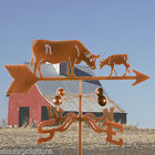 Cow w/ Calf Weathervane - Dairy Farm - Weather Vane Complete w/ Choice of Mount